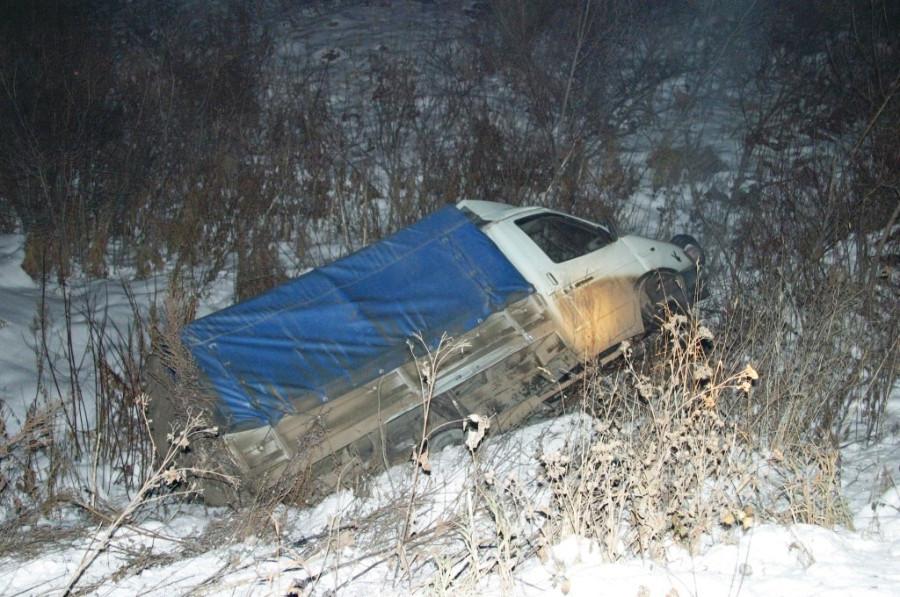 Авария на зимней дороге, 2003 год