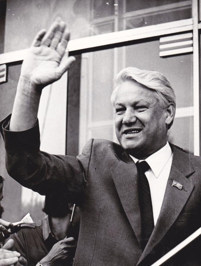 Борис Ельцин, 6 августа 1990