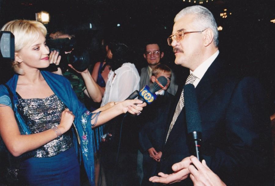 Интервью для ТНТ