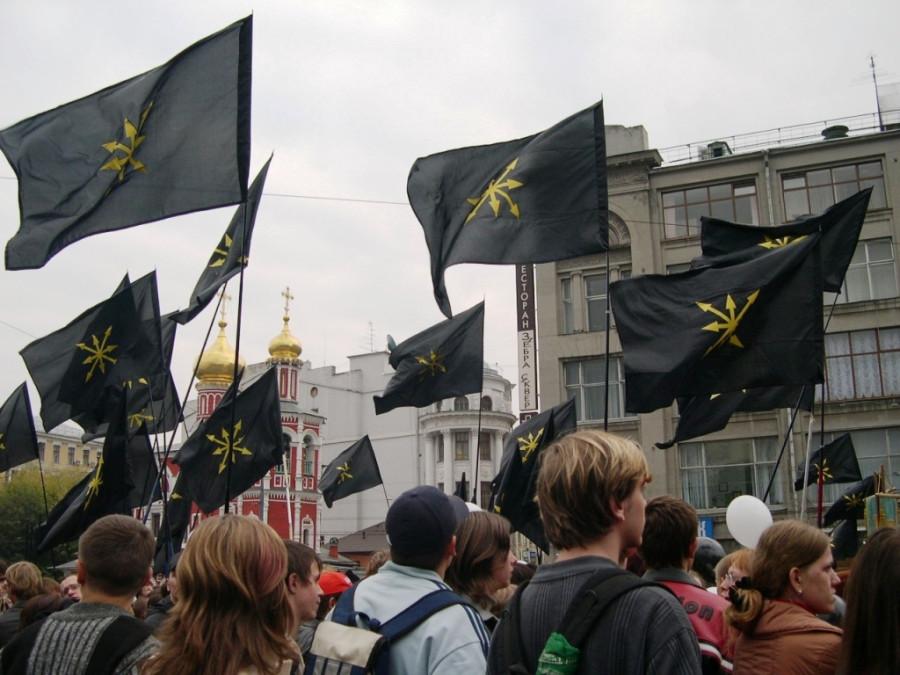 Под евразийскими флагами