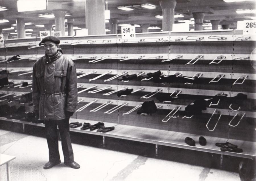 Пустые полки магазинов