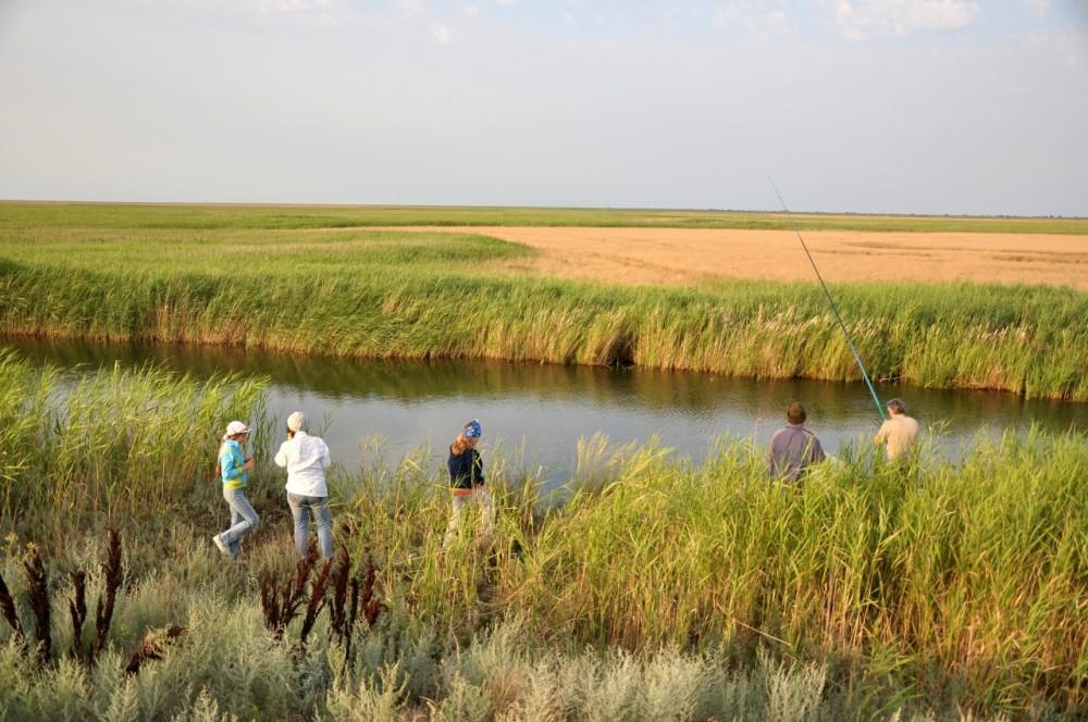 рыбалка в садках на крестах