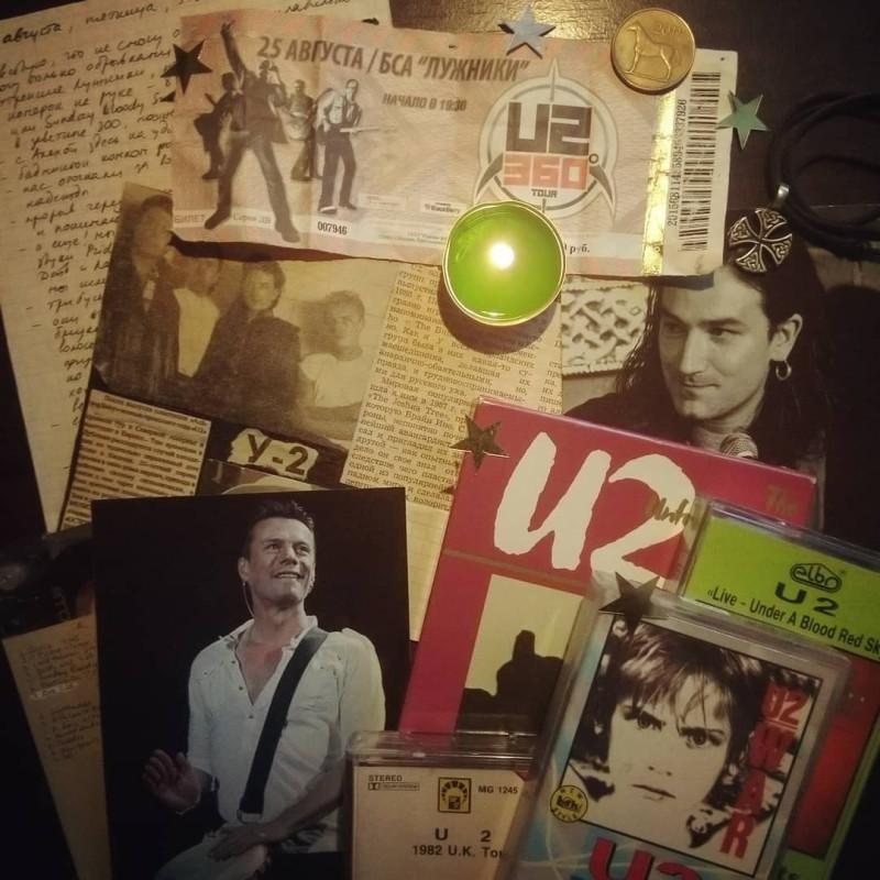 10 лет концерту, 30 лет моей первой газетной вырезке об U2