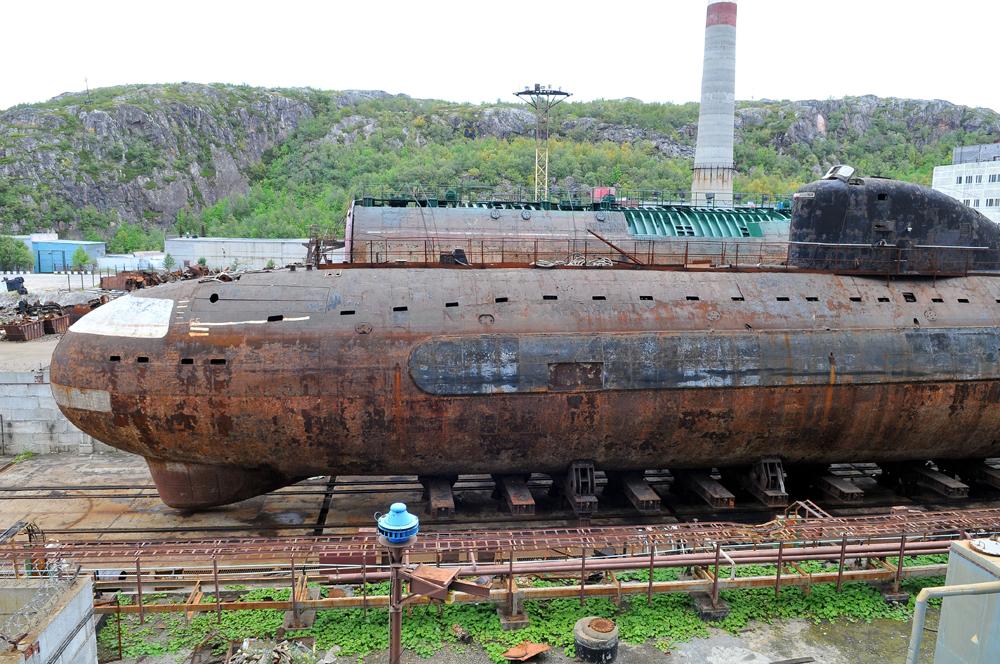 Атомная подводная лодка. К-3. «Ленинский Комсомол» - 2 copy
