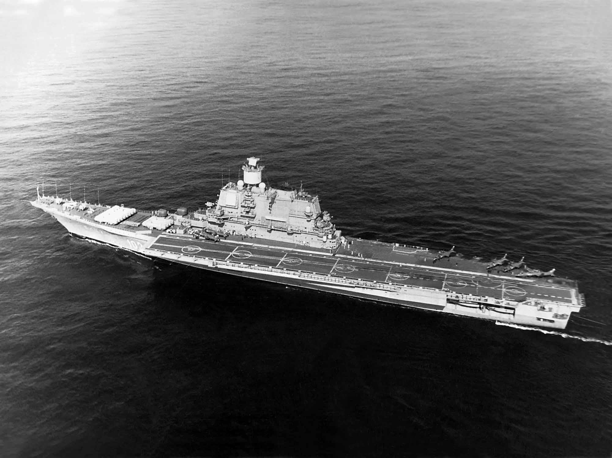 Тяжелый авианесущий крейсер. Пр.11434. «Адмирал Горшков». - 10