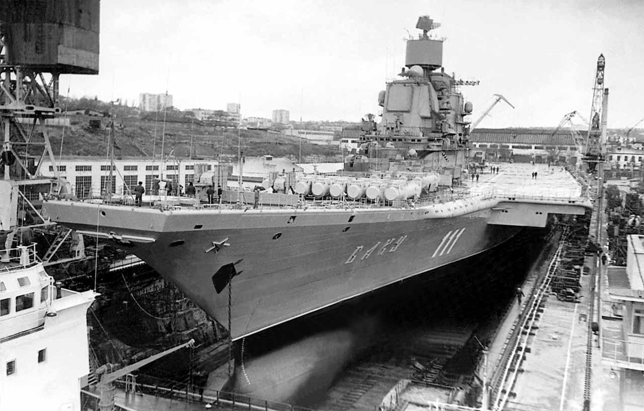 Тяжелый авианесущий крейсер. Пр.11434. «Адмирал Горшков». - 1
