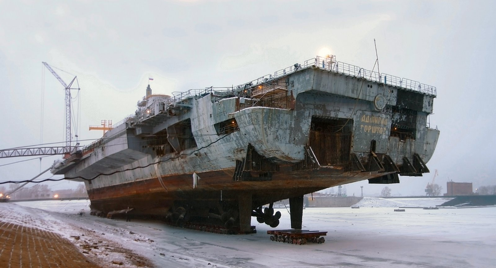 Тяжелый авианесущий крейсер. Пр.11434. «Адмирал Горшков». - 4