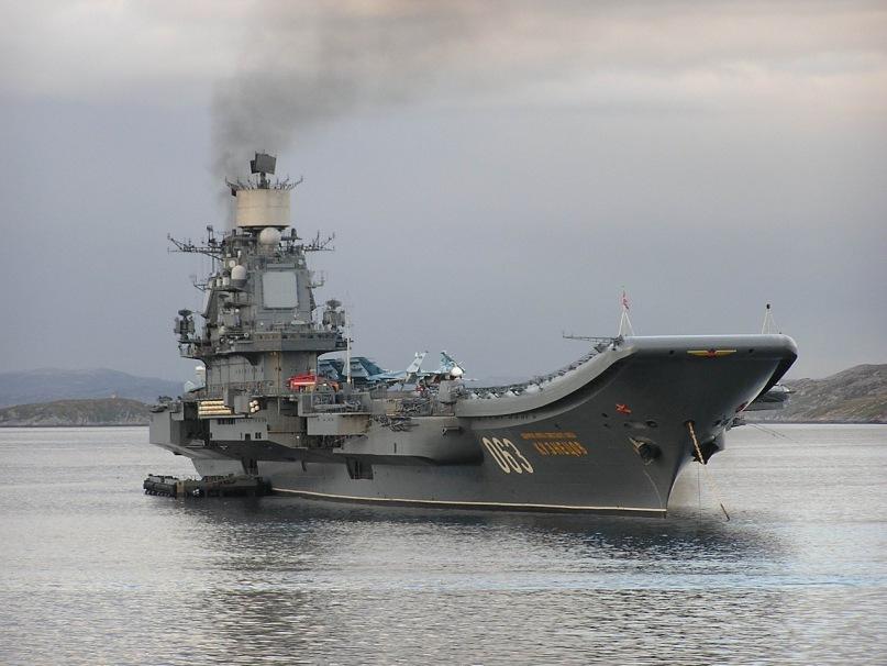 Тяжелый авианесущий крейсер. Пр.11435. «Адмирал Кузнецов». - 2