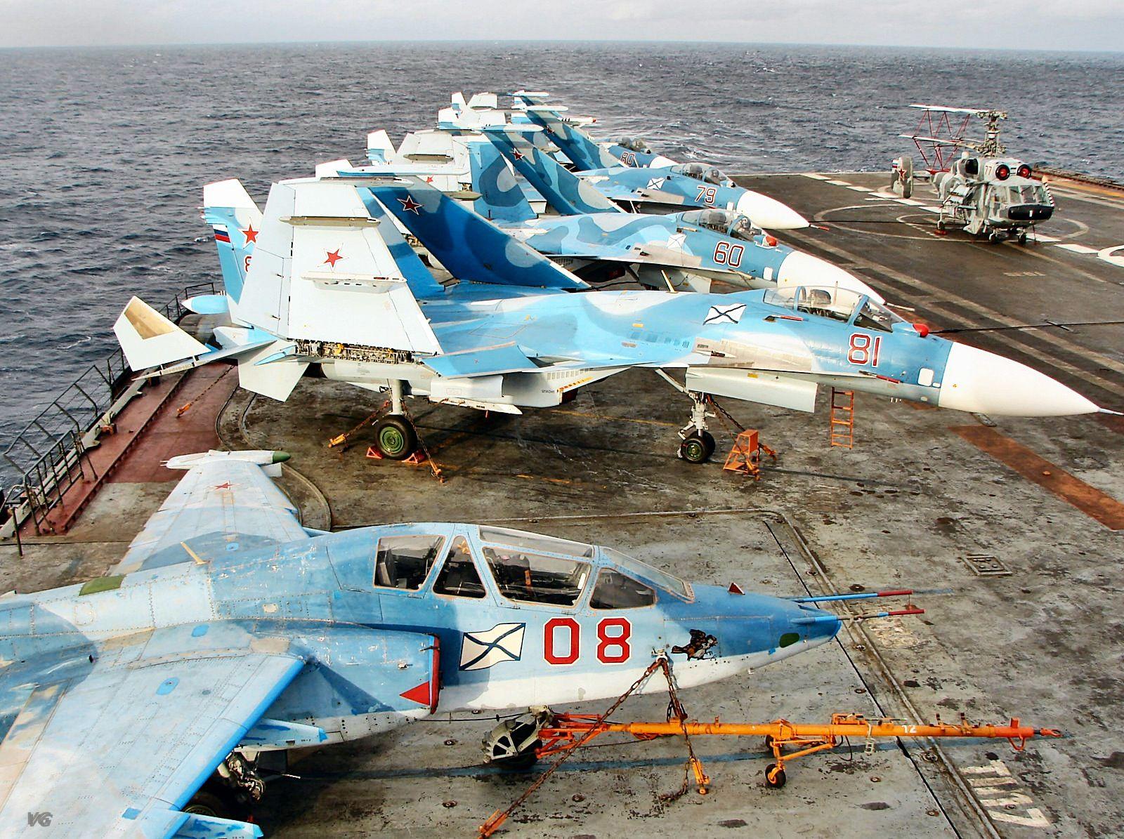 Тяжелый авианесущий крейсер. Пр.11435. «Адмирал Кузнецов». - 13