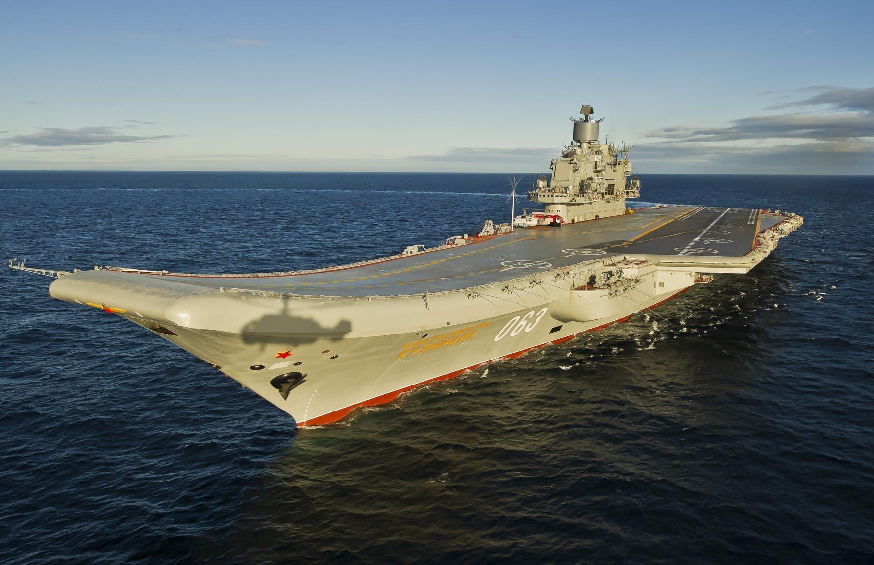 Тяжелый авианесущий крейсер. Пр.11435. «Адмирал Кузнецов». - 15