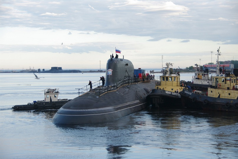 "Nuclear submarine with cruise missiles.  Pr.885. ""Severodvinsk"" - 6"