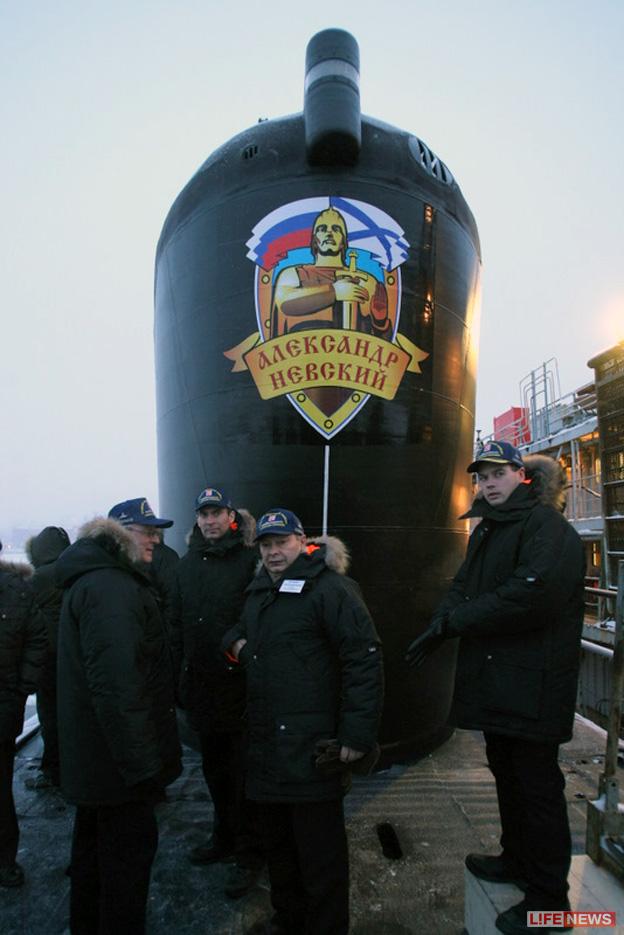 Атомный подводный крейсер стратегического назначения. Пр.955.«Александр Невский» - 2