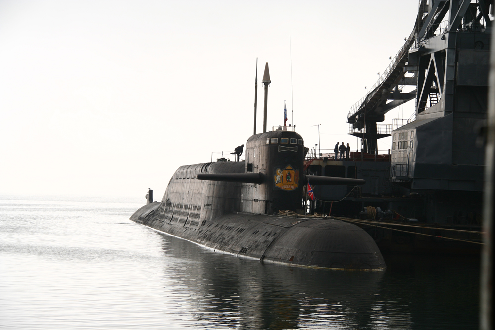 Атомная подводная лодка. Пр.667БДР. (К-44).«Рязань» - 1 copy