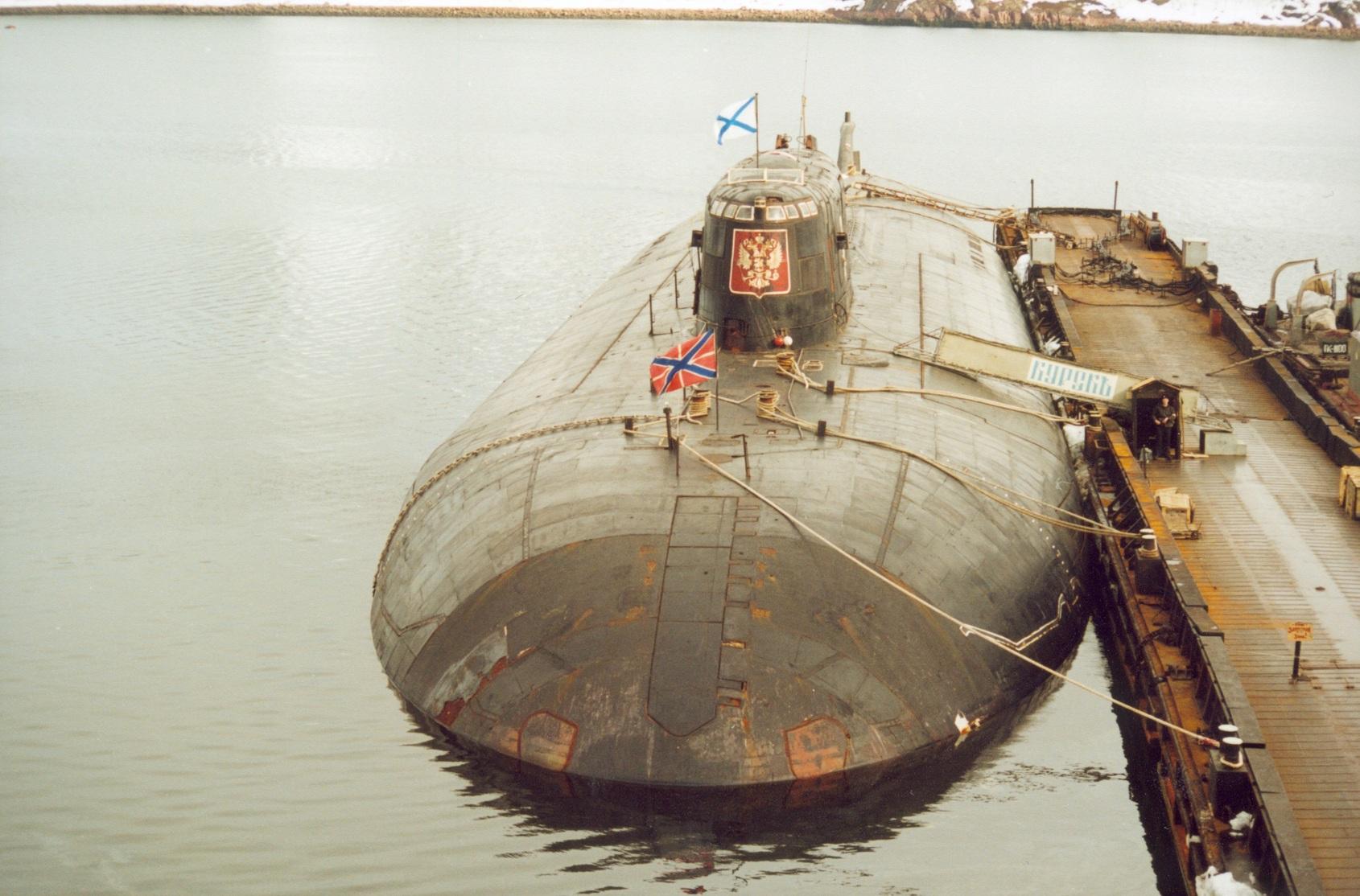 Атомная подводная лодка с крылатыми ракетами. Пр.949А. () «Курск» - 1
