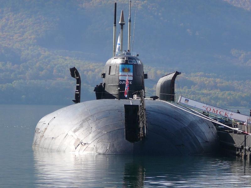 Атомная подводная лодка с крылатыми ракетами. Пр.949А ( К-186) «Омск» - 2