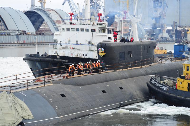 Атомный подводный крейсер стратегического назначения. Пр.955.«Александр Невский» - 4 copy