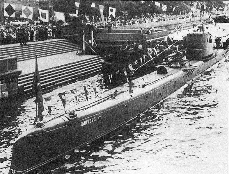 Подводаная лодка типа БАРС. «Пантера»