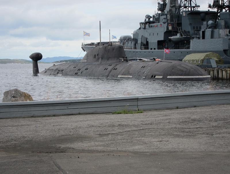 Атомная подводная лодка. Пр.971. (К-317).  «Пантера» - 4 copy