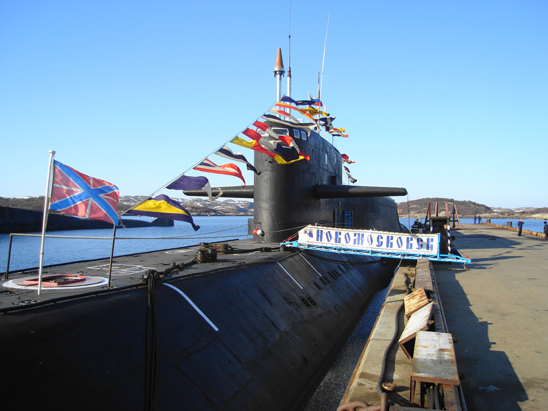 Атомная подводная лодка. Пр.667БДРМ. (К-407).«Новомосковск» - 3 copy