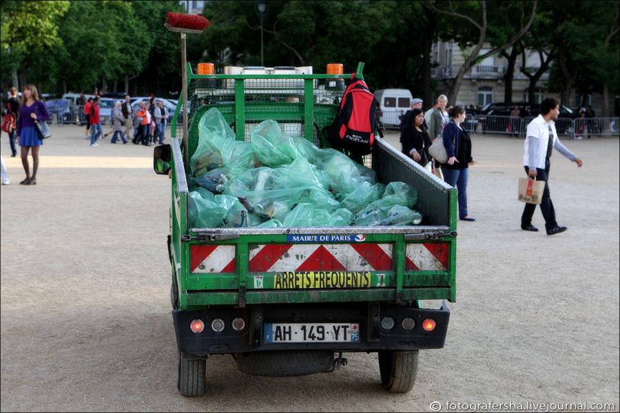 мусорка с бухлом