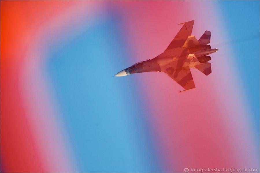 Су-27 в Комсомольске-на-Амуре