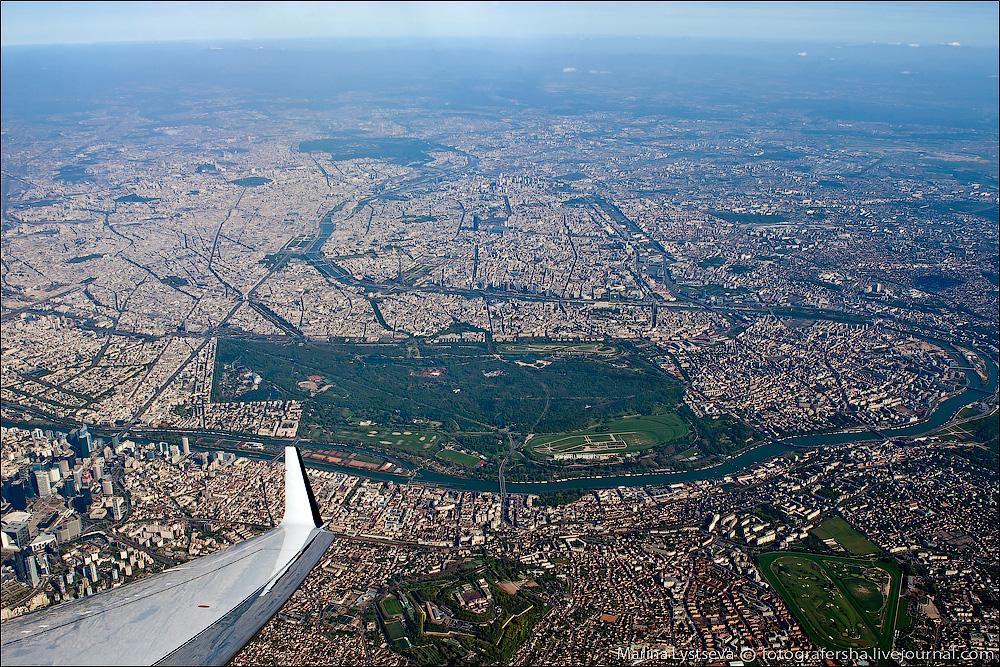 paris up view