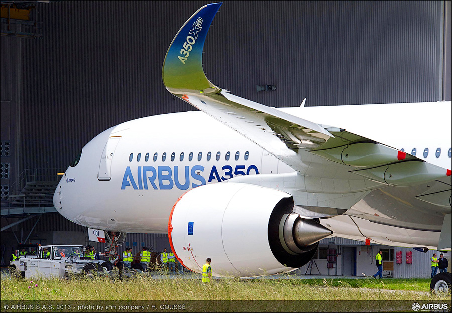 A350_XWB_out_of_paint_shop1