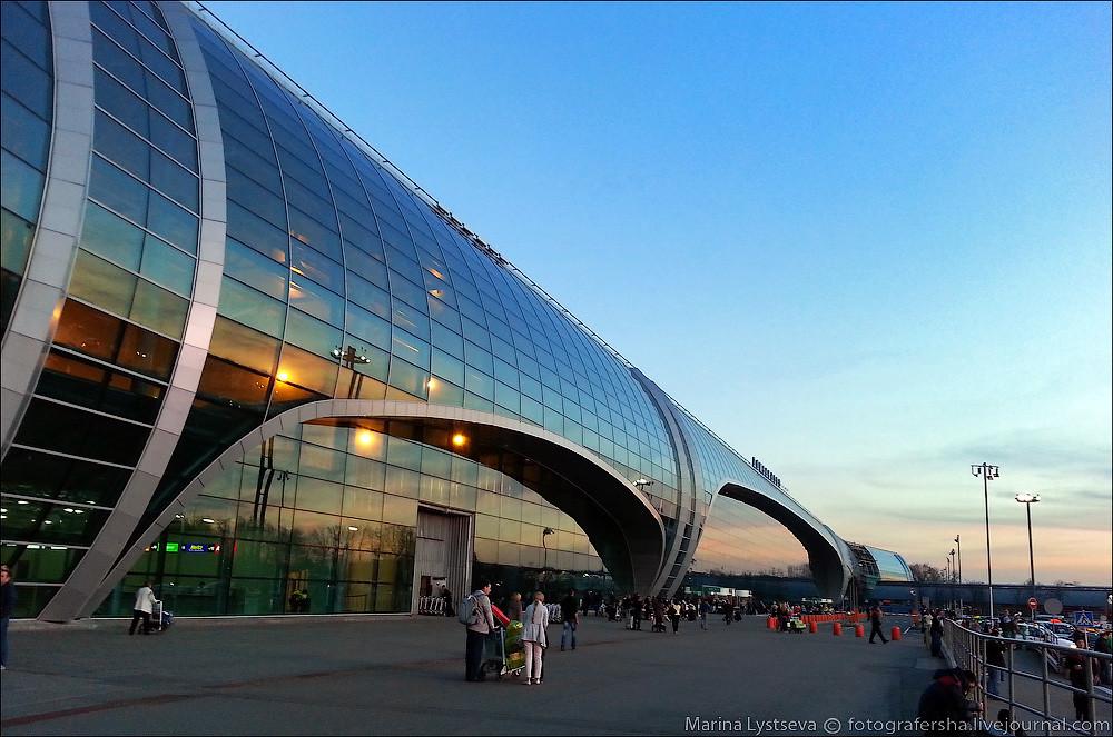 Фоточка аэропорта Домодедово для привлечения внимания