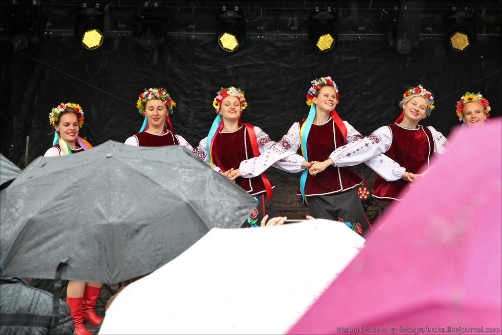 Украинцы сегодня танцуют в Мюнхене