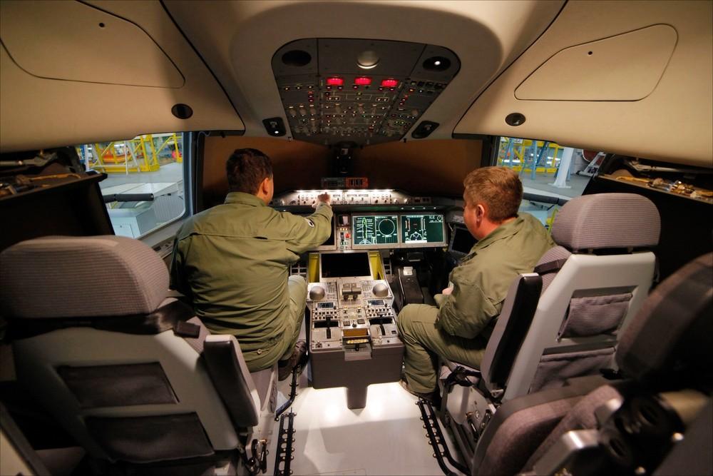 кабина самолета МС-21-300-0001 1