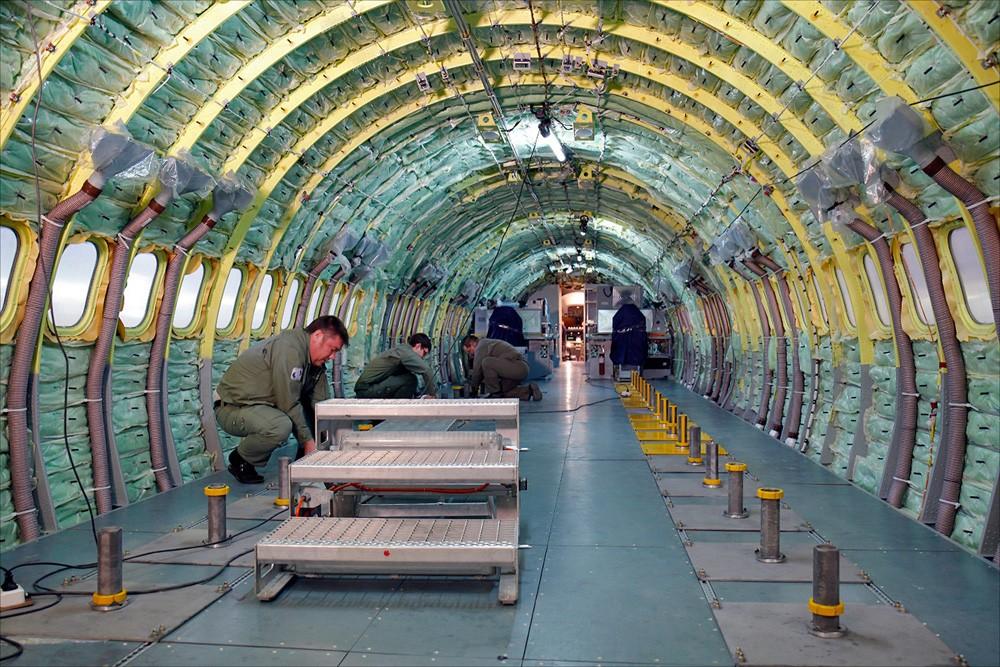 пассажирский салон самолета МС-21-300-0001