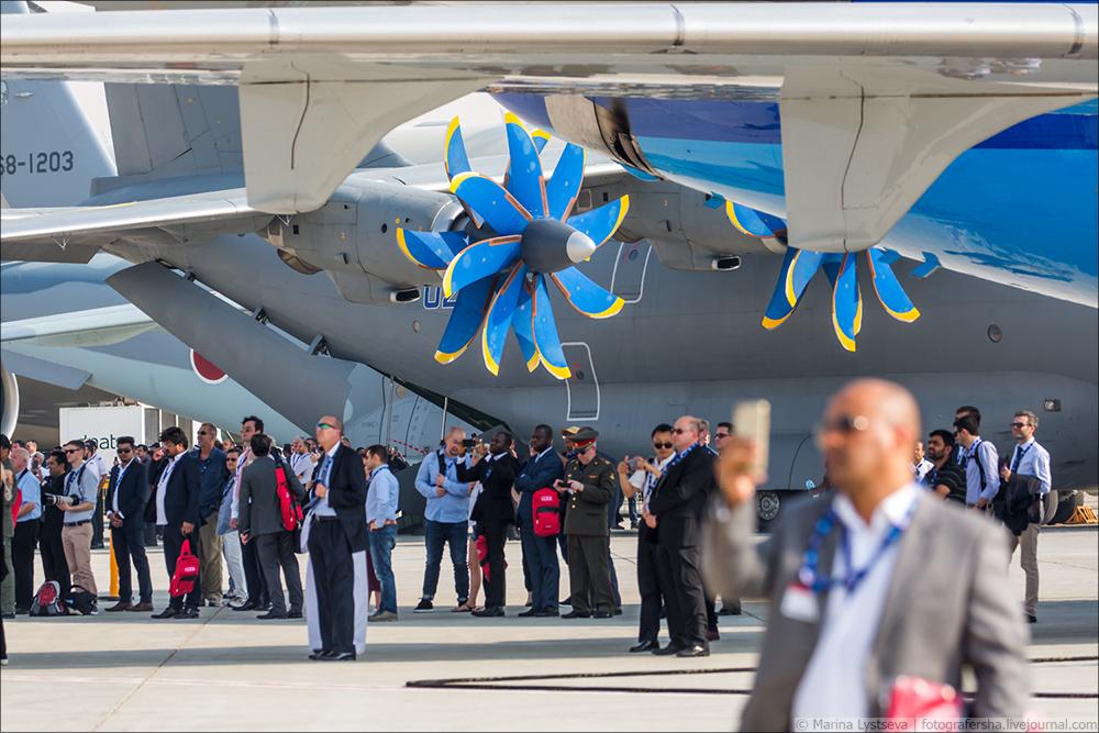 Украинская составляющая на Dubai AirShow-2017 An70_07
