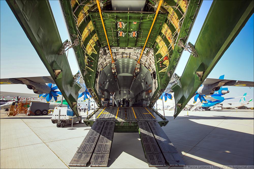 Украинская составляющая на Dubai AirShow-2017 An70_21