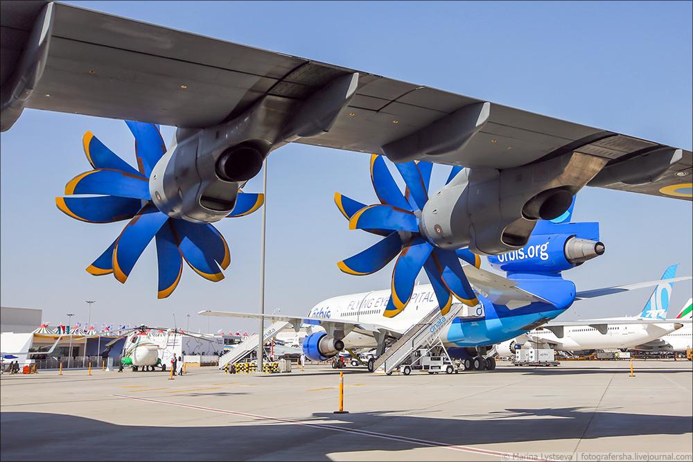 Украинская составляющая на Dubai AirShow-2017 An70_23