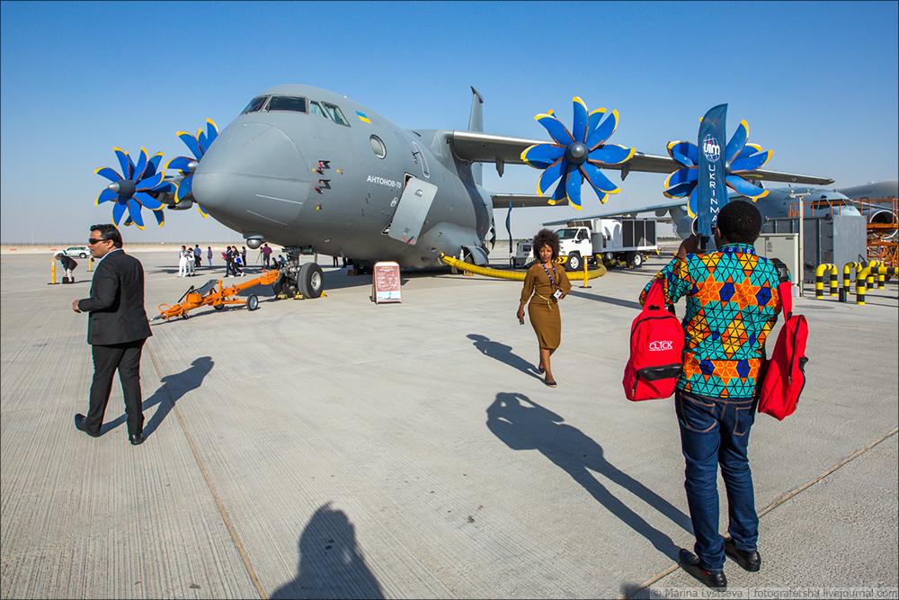 Украинская составляющая на Dubai AirShow-2017 An70_45
