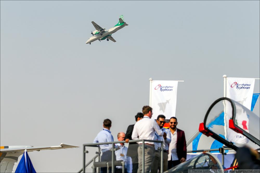 Украинская составляющая на Dubai AirShow-2017 An132_06