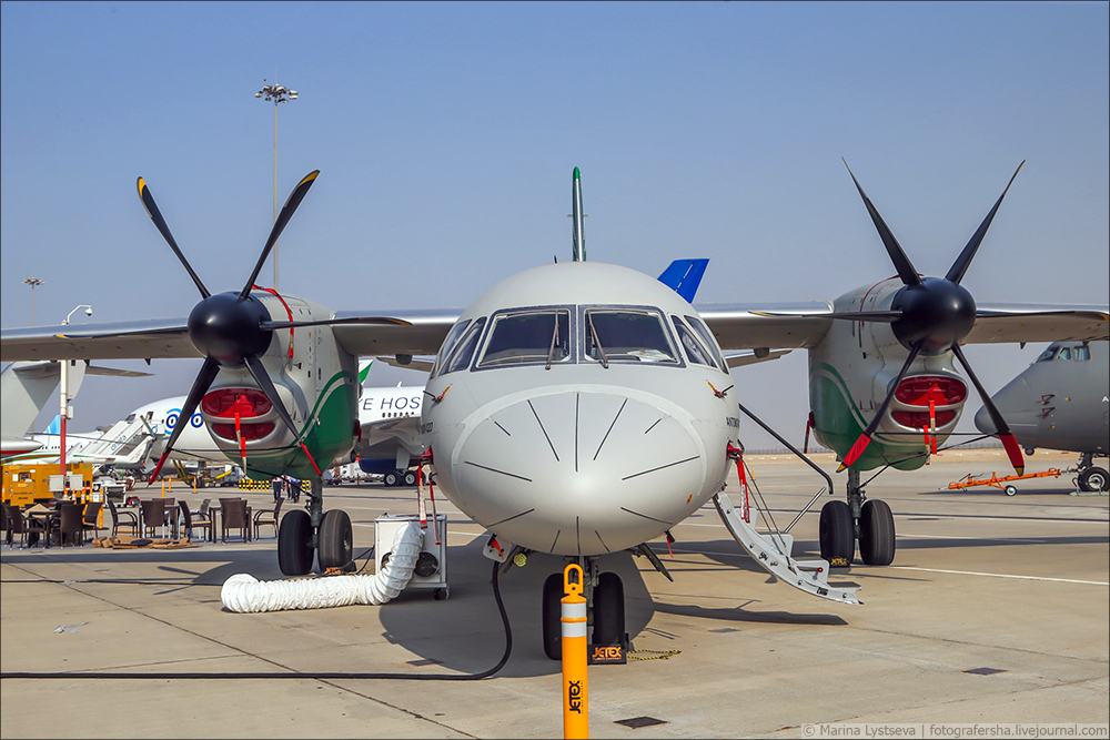 Украинская составляющая на Dubai AirShow-2017 An132_22