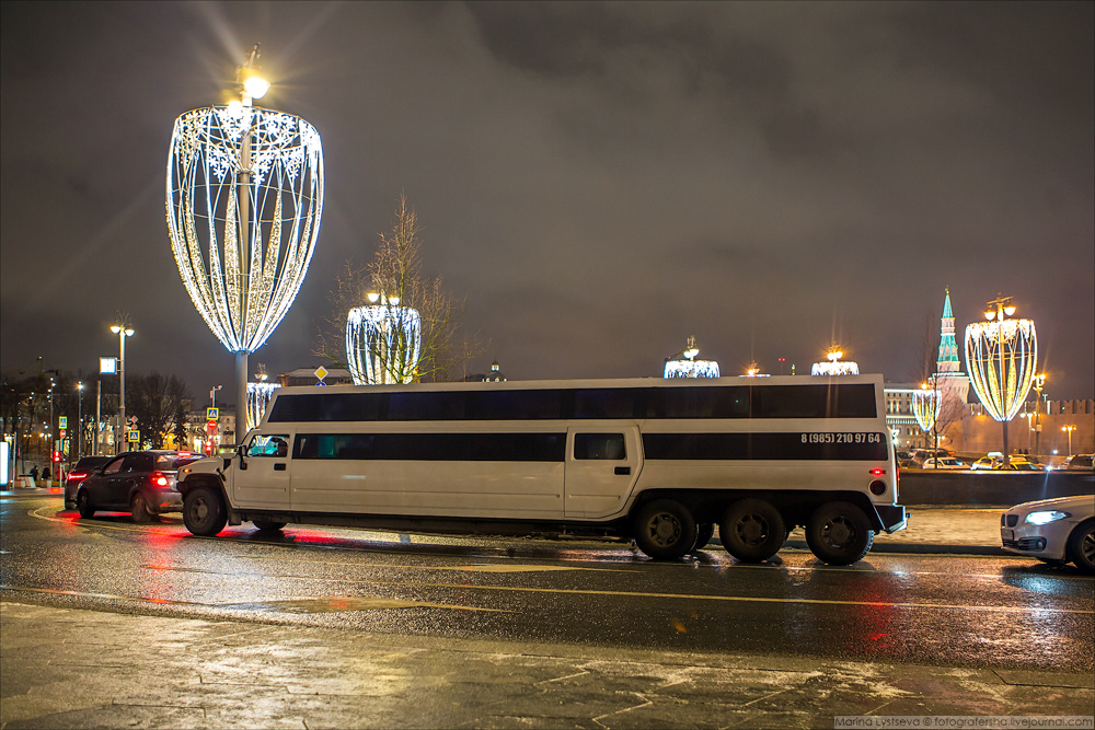 Предновогодний центр Москвы