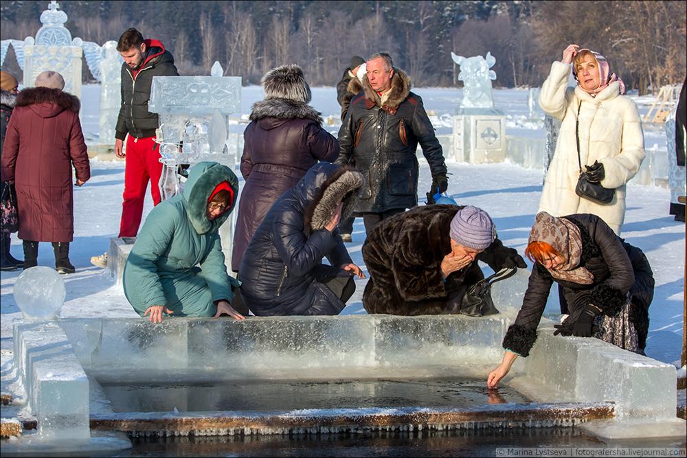 Крещение-2018 Раифский, мужской, монастырь, республика, Татарстан
