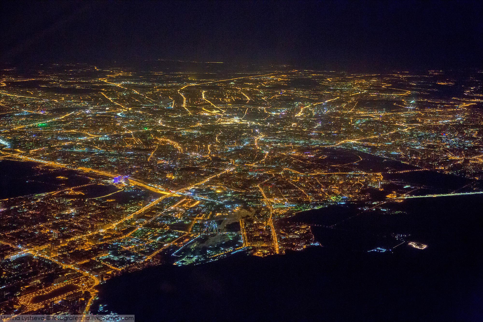 родным отцом фотографии из окна самолета ночная москва нежная черёмуха