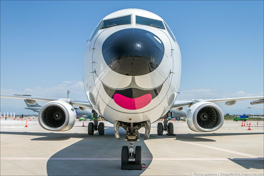 В Турецкой Анталье впервые открылся авиасалон