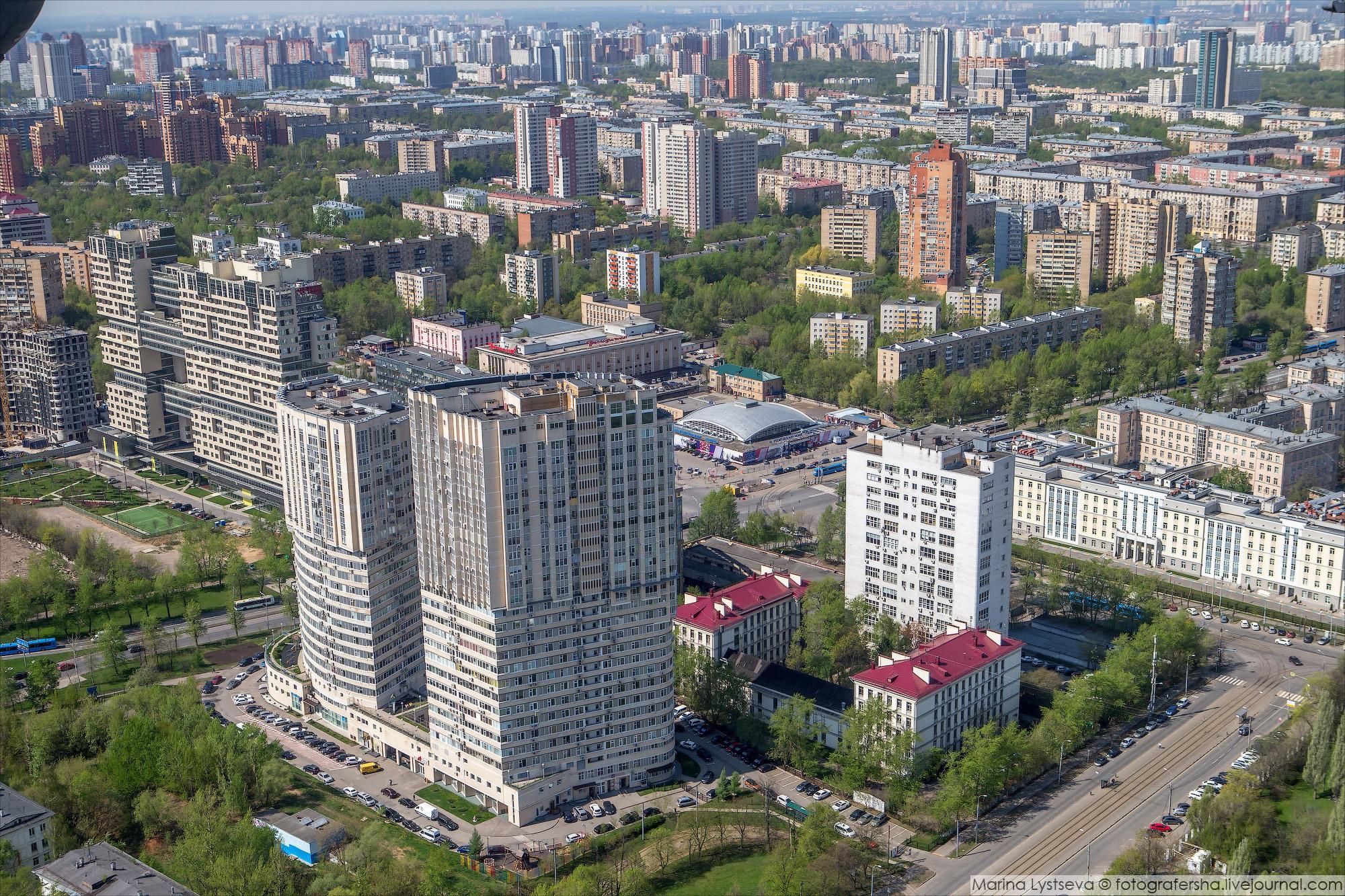 Фото новостроек метрогородка