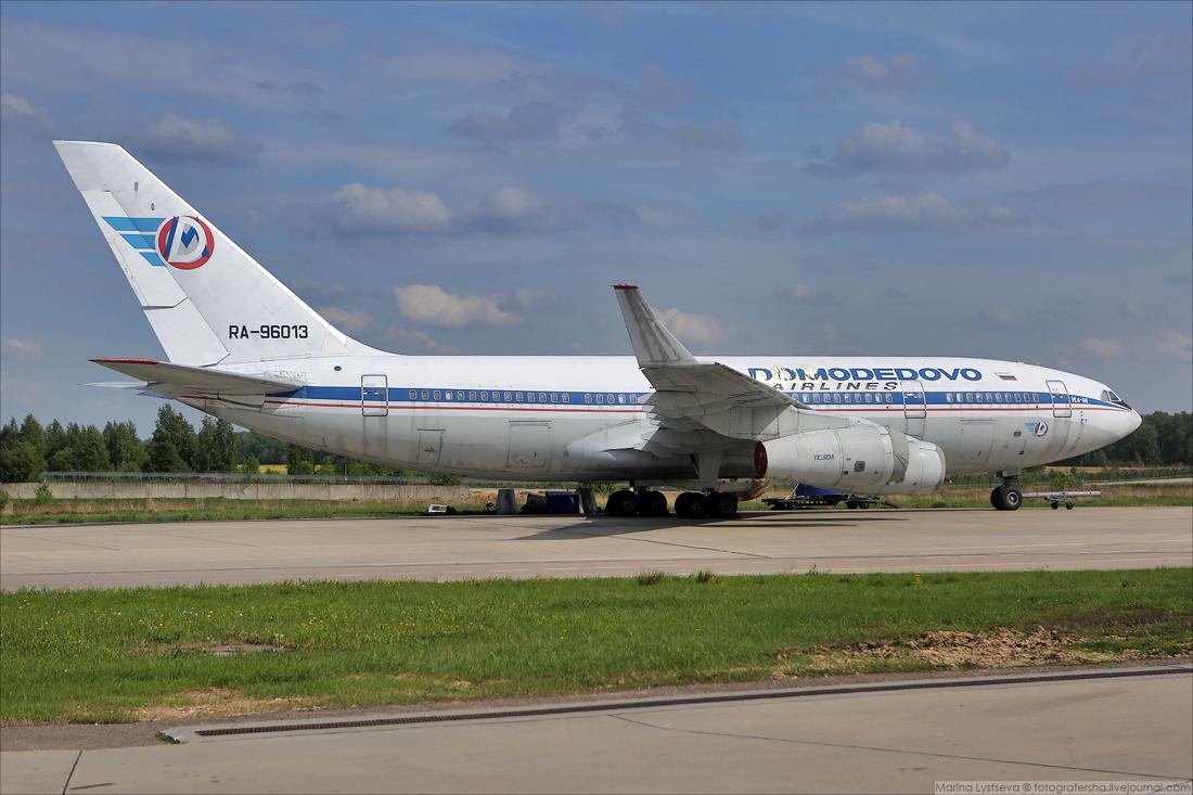 Ил-96 96013 улетел вчера из Домодедово