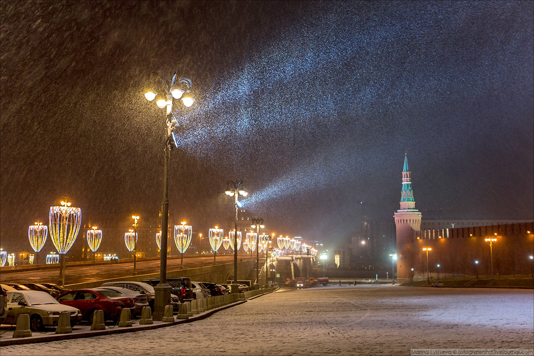 180105 Кремль, снегопад