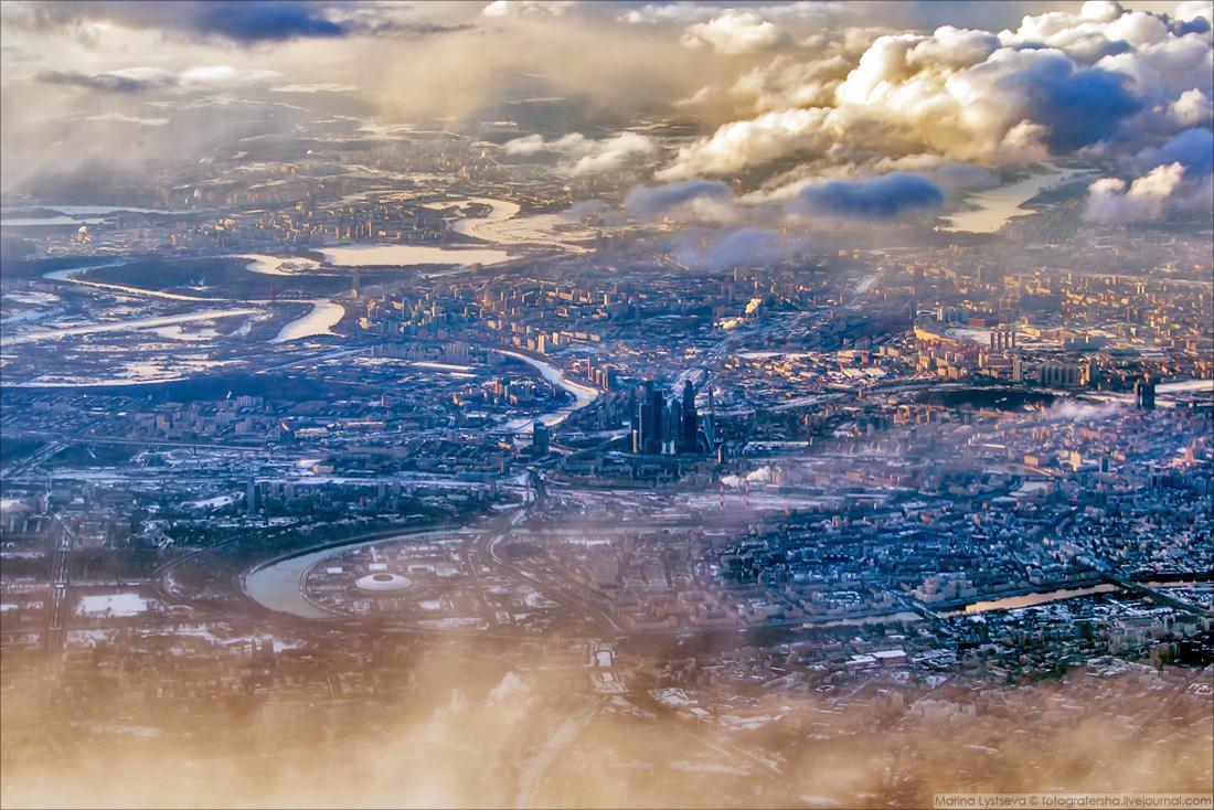 180328 Москва с самолёта