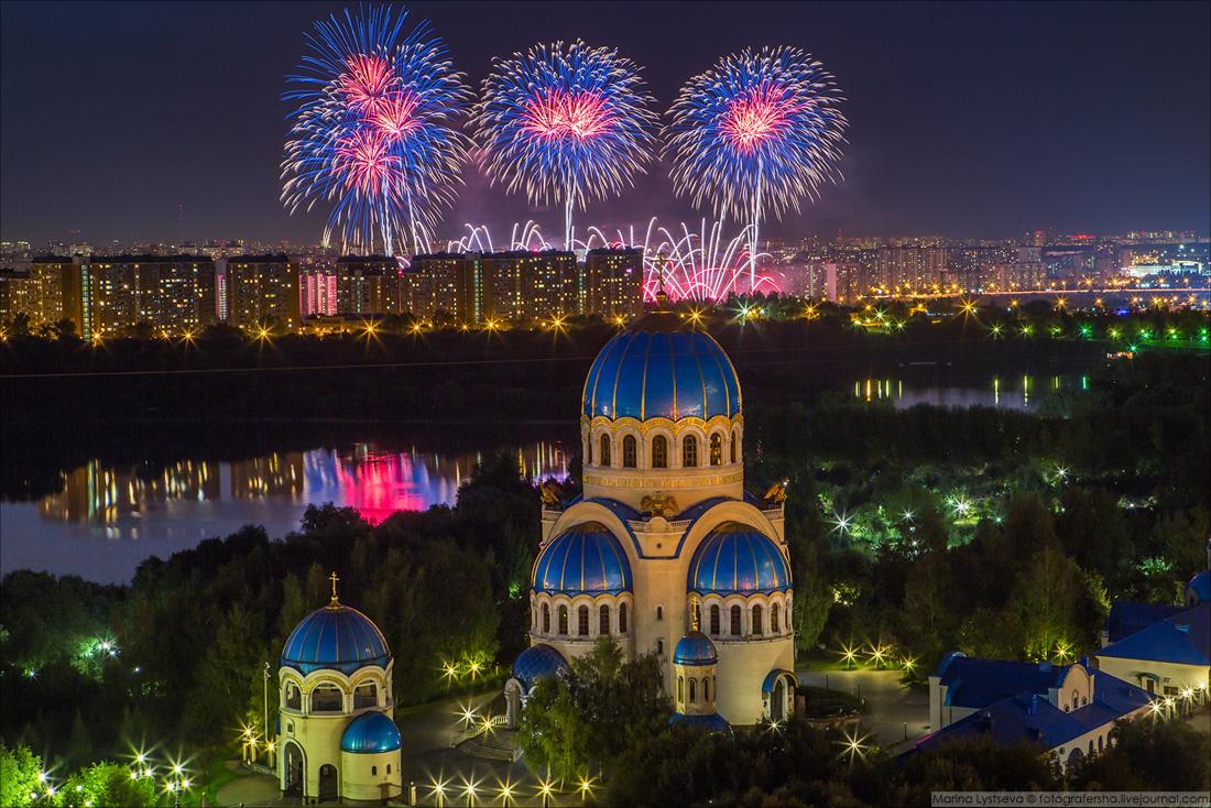 180819 Фестиваль фейерверков в Братеево