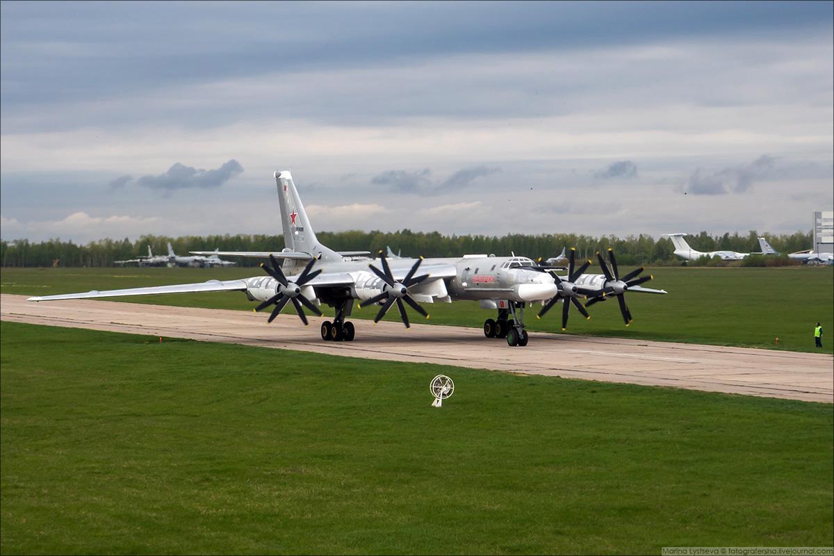 Москва из кабины Ил-78