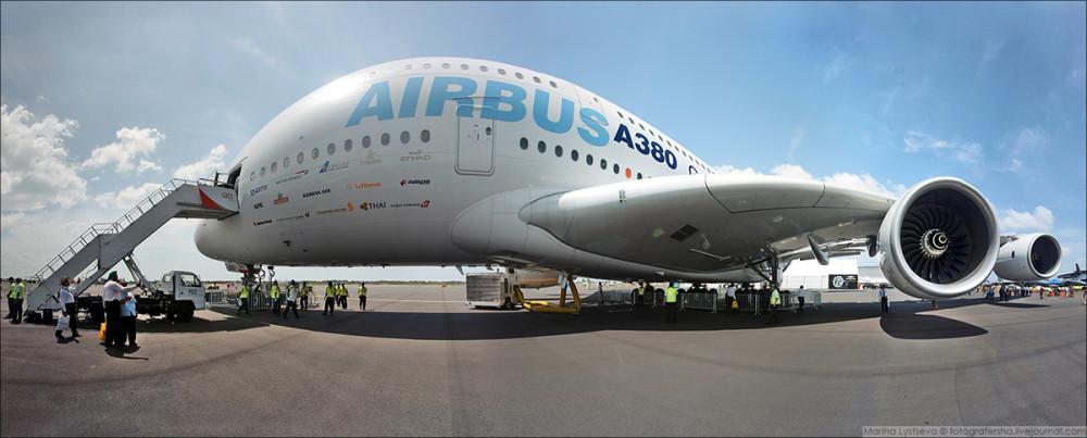 A380 panorama