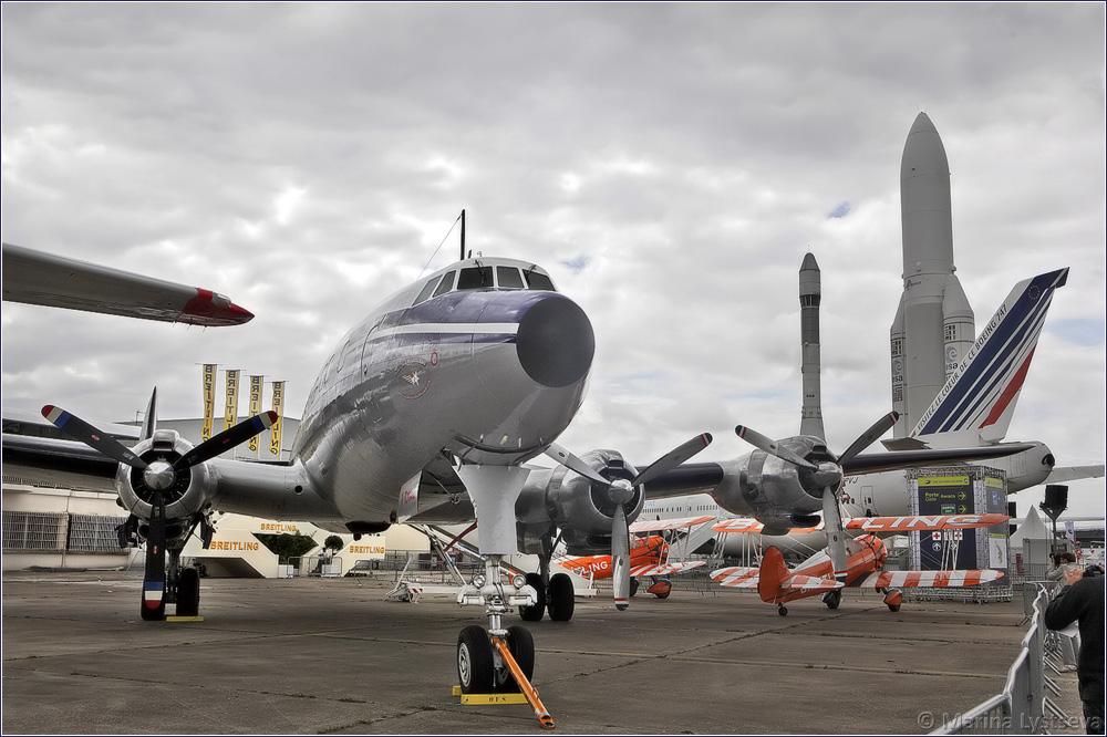 Breitling (Super Constellation Flyers) Lockheed C-121C Super Constellation