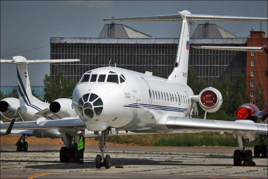 Ту-134А-3 RA-65978, «Сириус-авиа», борт «Светлана»